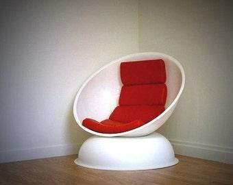 Orbit Lounge Chair  Eames Aarnio Kartel Eras New classic design
