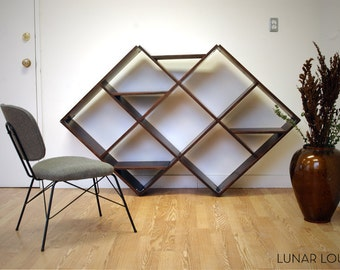Argyle Shelving Unit  Mid Century Furniture design
