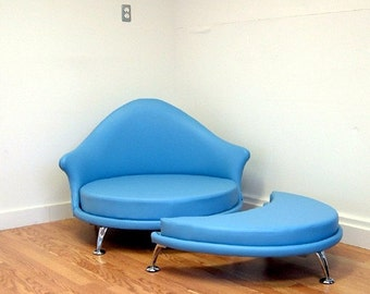 HAVANA  Lounge chair and ottoman Mid Century Modern Design by J Sebastian for Lunar Lounge