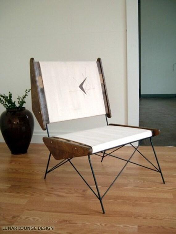 ARCH  Accent chair Mid Century Modern Eames Era