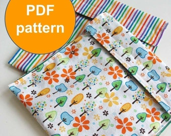 PDF Sewing Pattern - Picnic Pouch - Instant Download