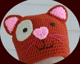 Amigurumi Animal Kitty Crochet Pattern