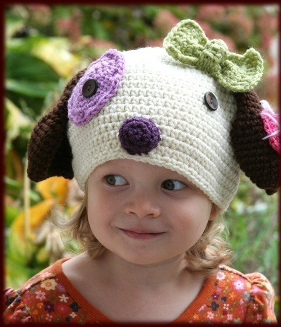 Amigurumi Animal PUPPY Hat Crochet Pattern
