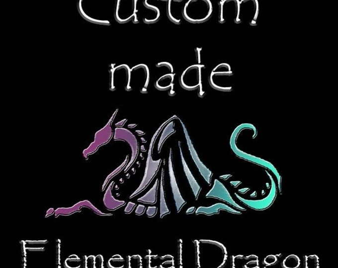 Featured listing image: Dragon of your own-  Custom made Elemental Dragon