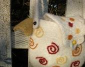 PDF Pattern  Crochet Felted Wool Chicken Bag