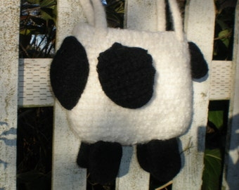 Pattern  Crochet Felted Wool  Sheep Bag