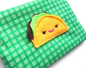 Sale Taco time applique pouch