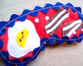 SALE-Bacon and eggs sleep eye mask