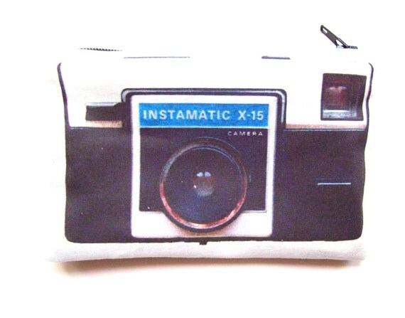 Vintage camera series-Instamatic pouch