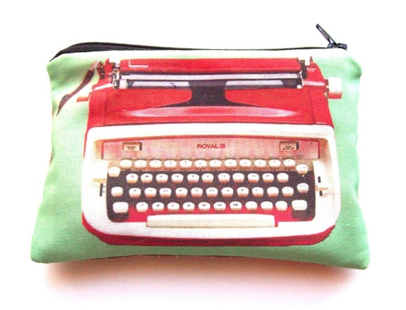 Vintage typewriter series-Big red