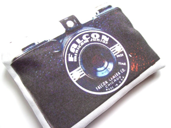Vintage camera series-Falcon pouch