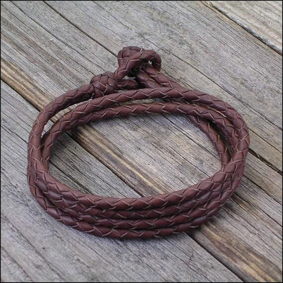 Detangled - 4 Strand Leather Bracelet
