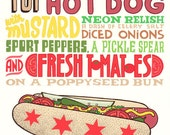 Genuine Chicago Hot Dog