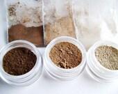 Natural Mineral  Matte Contour Color Trio - Small Size