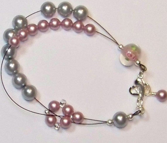Emma Row Counter Bracelet  Medium to Large for Knitting or Crochet