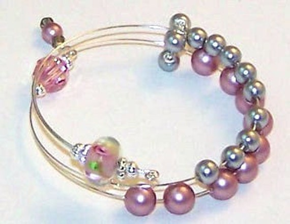 Emma Row Counter Bracelet for Knitting and Crochet One Size Fits All