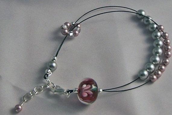 Emma Row Counter Bracelet Small to Medium Wrist