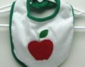 SALE Little Apple Bib