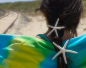 STARFISH HAIR BARRETTE 3 to 4 inch size