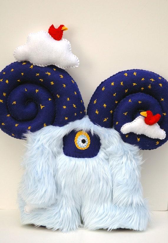 Dream Monster - Survival Monster Series - Handmade Plush Monster