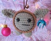 Baby Yoda Ornament and Toy - Amigurumi Pattern