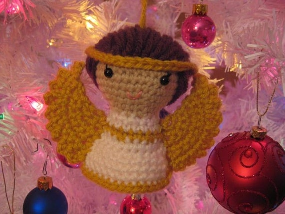 Sweet Angel Ornament and Toy - Amigurumi Pattern