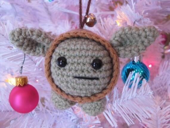 Baby Yoda Ornament and Toy - Amigurumi Pattern