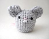 Grey Mouse Amigurumi