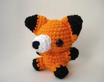 Red Fox Doll - Amigurumi Fox Doll