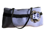 Eco-Friendly Style--Recycled Wool Handbag