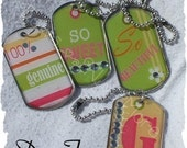 How to make Dog Tag Charms - Ebook
