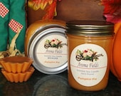 GIFT SET - Two Scented Soy Candles and Tarts - PUMPKIN PIE