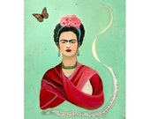 Frida Kahlo and the Butterfly - 5 - Postcard Set