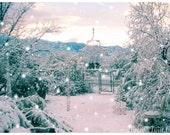 Winter Wonderland Snow  - 5 card set