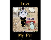 Pet Love - 5 Postcard set