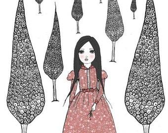 She dreamed herself a Cypress Grove...