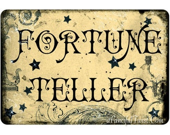 Fortune Teller - 5 Postcard Set