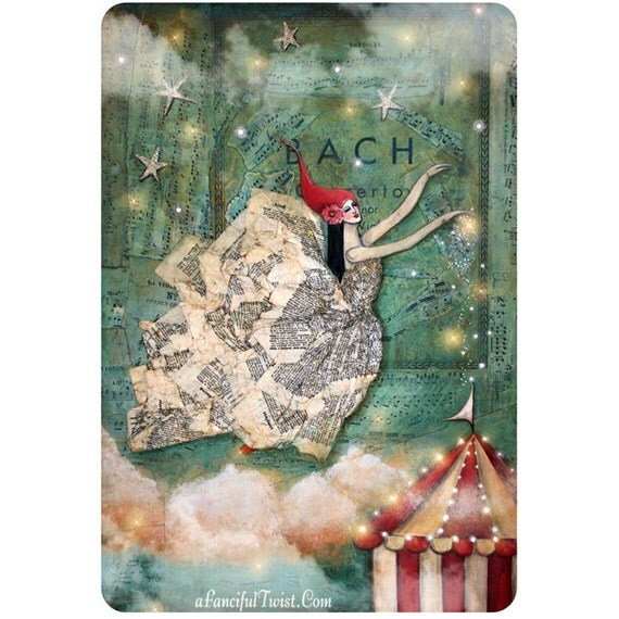 Circus Magic - 5 Postcard set