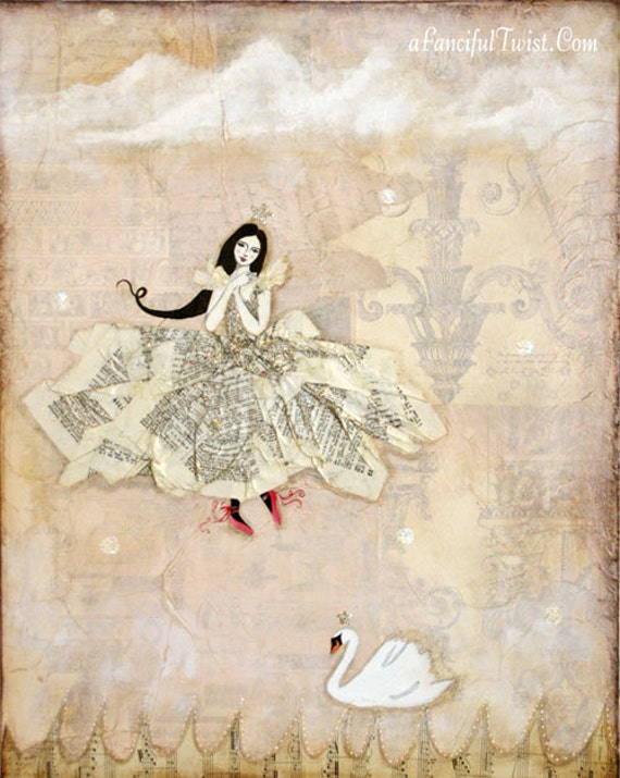 The Girl and the Swan
