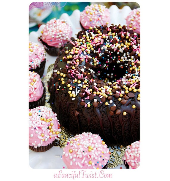 Sprinkle Cakes - 5 Postcard Set
