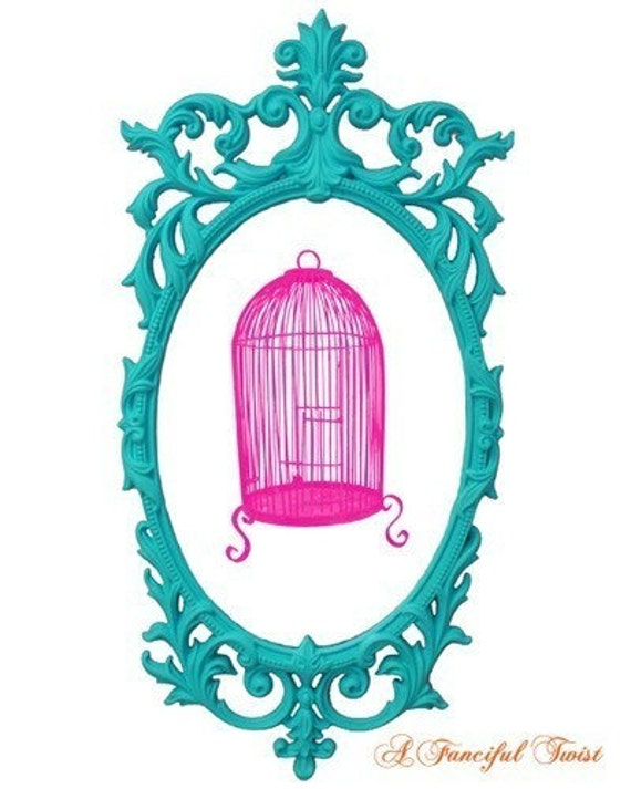 Birdcage - Charming Silhouette