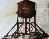 405 Water Tower...Painting