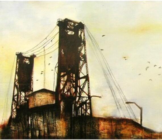 Portland Oregon Art Print
