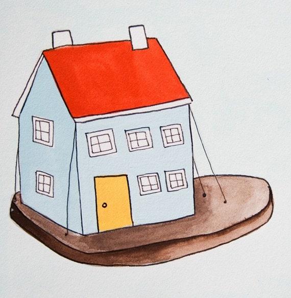 Little House...Original Illustration