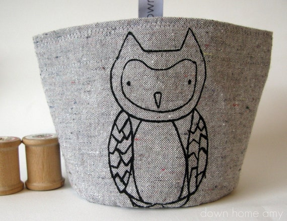 Snack pouch (small), Owl, Woodland, Snack bag
