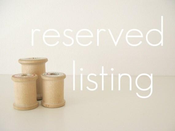 reserved custom listing for maui08.