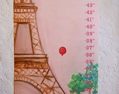 we are in Paris Growth Chart - Made to Order