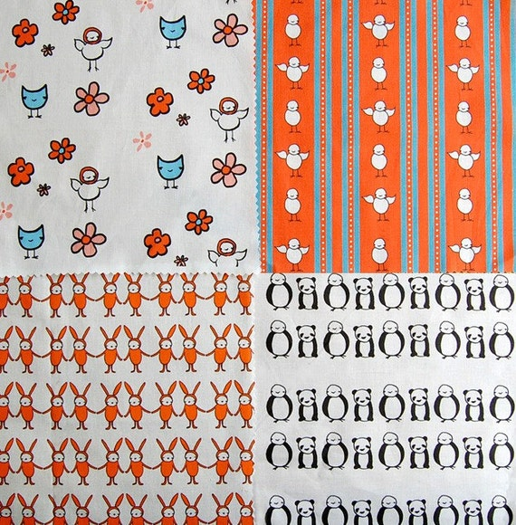 olive and friends fabric SAMPLER PACK