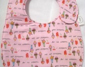 Final Sale - Everyday Bib - I Scream, You Scream