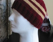 Pattern - Striped Team or House Hat